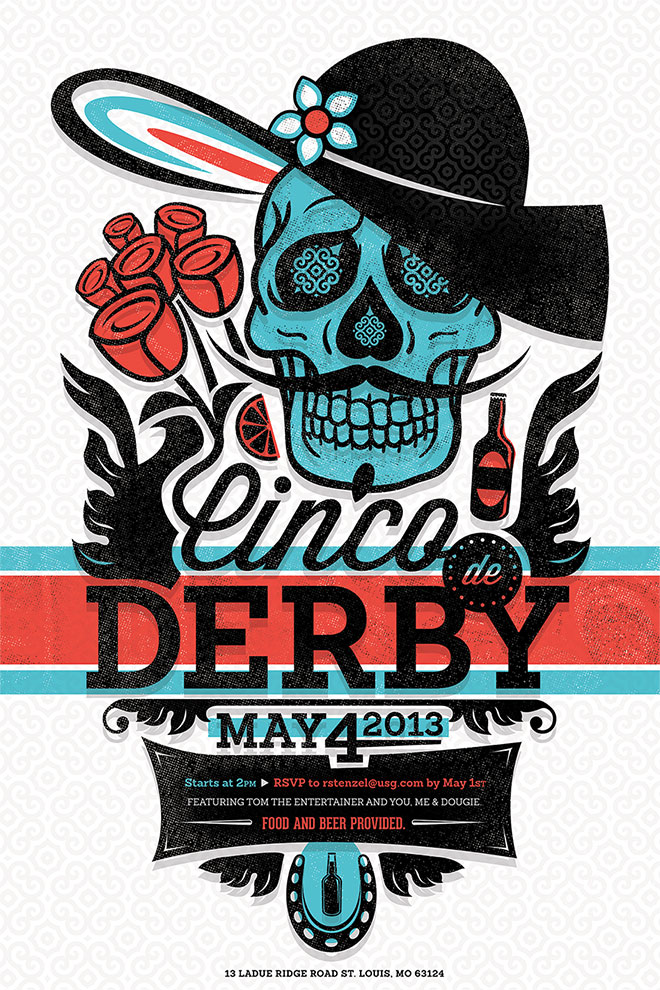 Cinco De Dribbble by Ben Grove