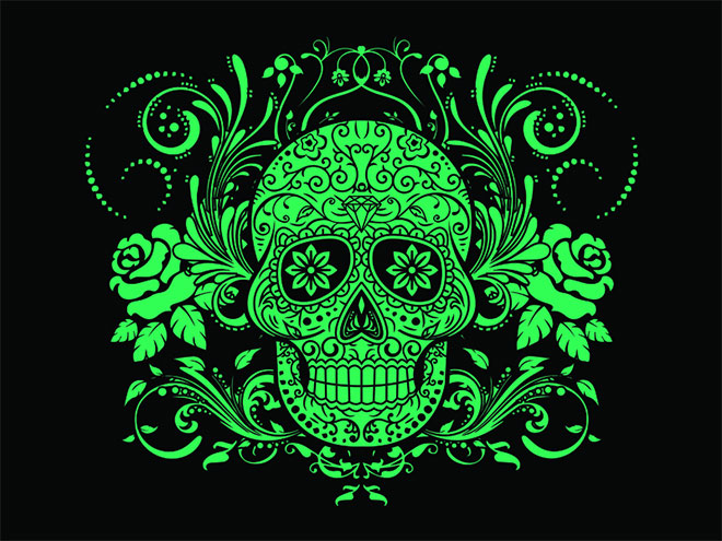 Sugar Skull by Tosca Digital