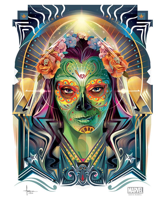 Guardians - Dia De Los Muertos by Orlando Arocena