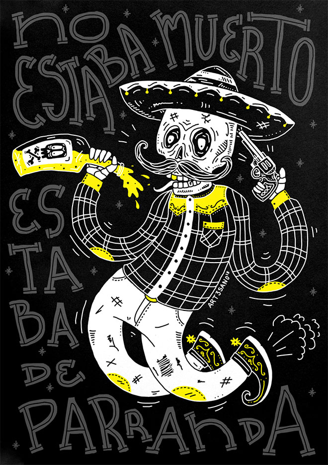 No Estaba Muerto Estaba de Parranda by Ricardo Bracho