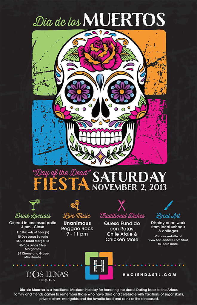 Hacienda's Day of the Dead Fiesta by Maureen Daley