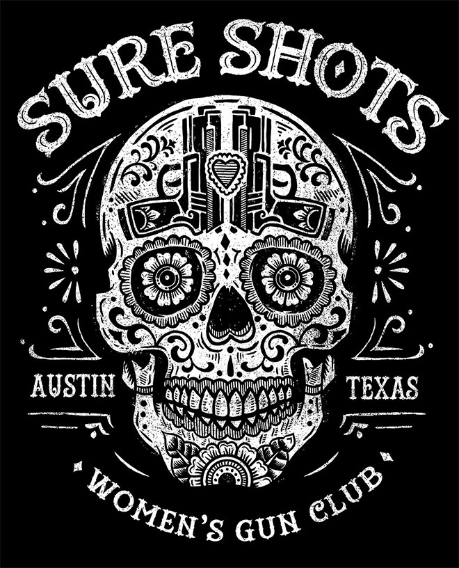 Sure Shots Women's Gun Club by Derrick Castle