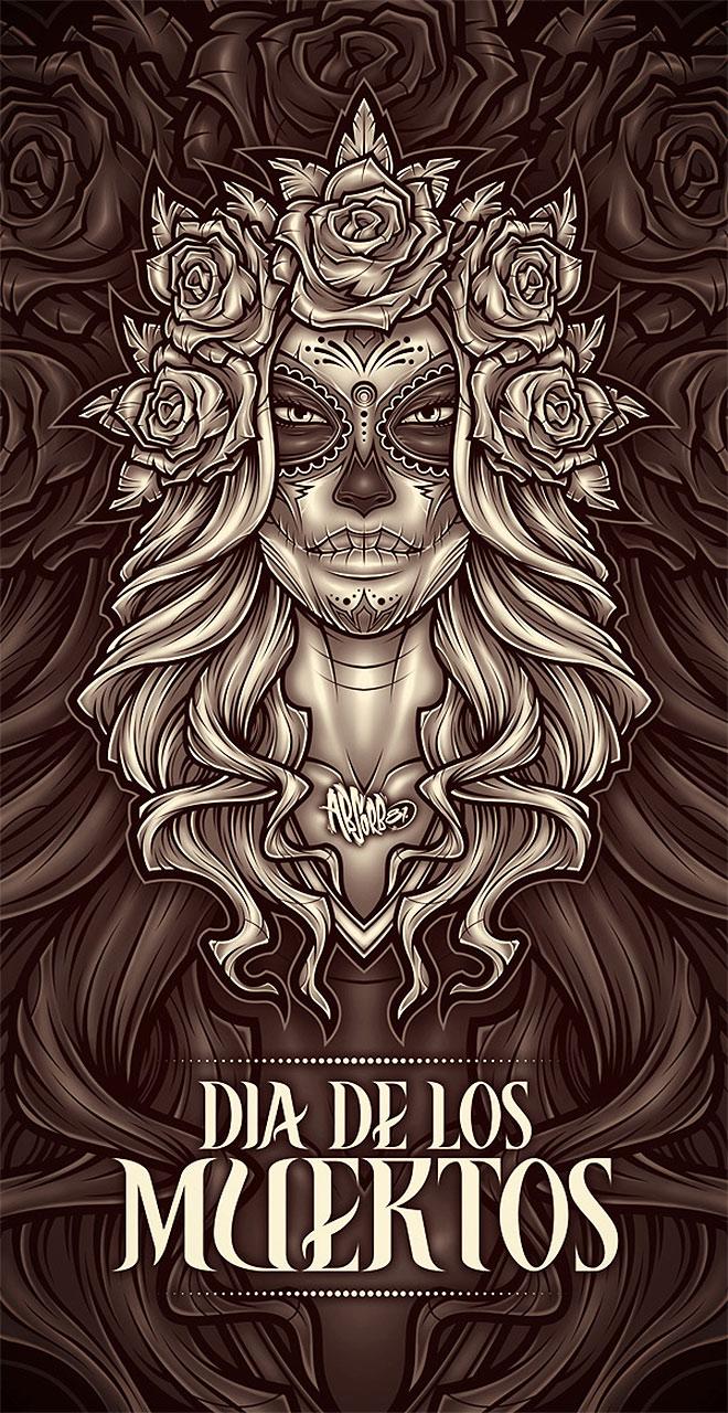 Dia De Los Muertos by Craig Pattersor