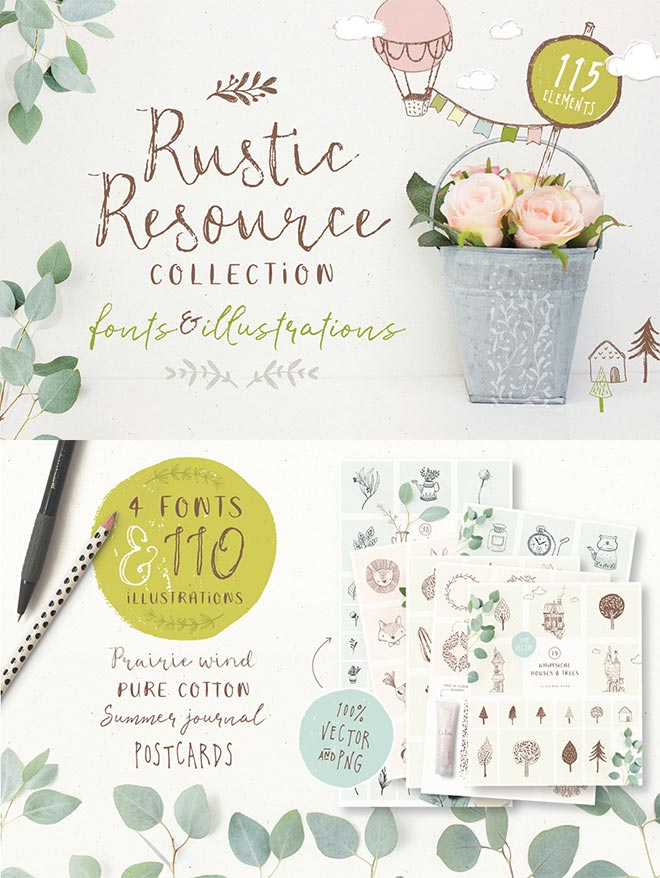 Rustic Resource Collection