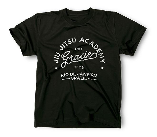 Vintage Jiu Jitsu T-Shirt Design