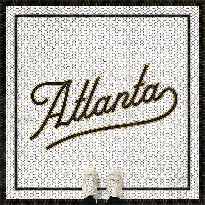Atlanta Mosaic Type by Zachary Smith