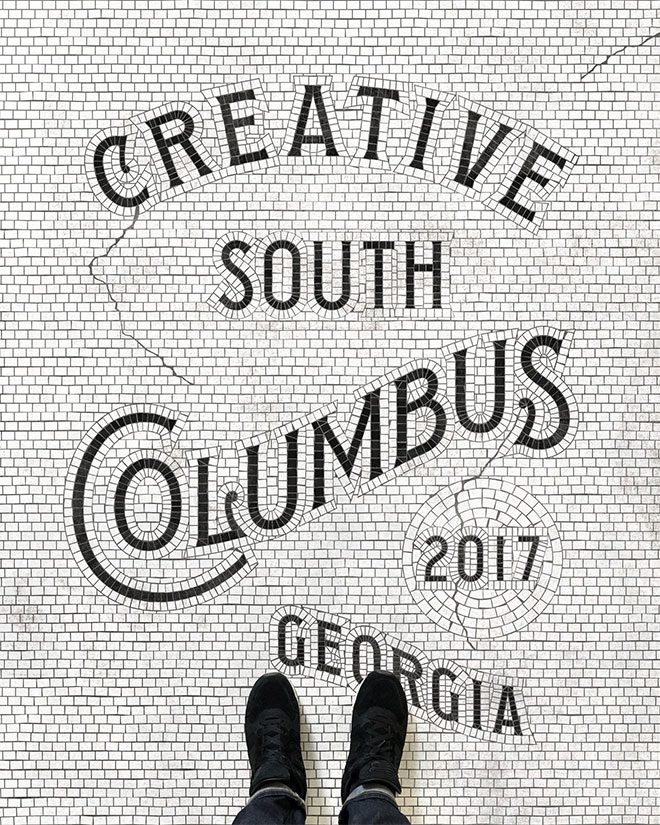 Creative South Mosaic by Zachary Smith
