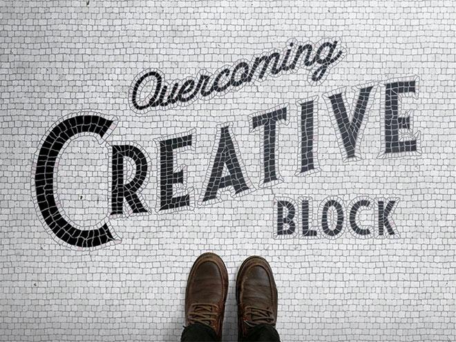 Creative Block by Ian Barnard
