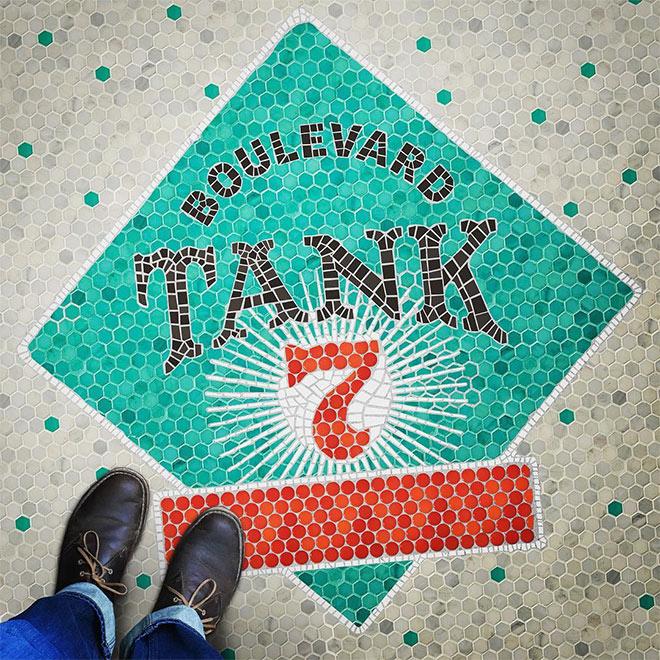 Boulevard Tank 7 by Dave Douglass