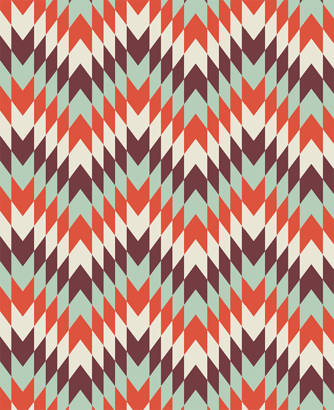 Geometric Pattern in Adobe Illustrator