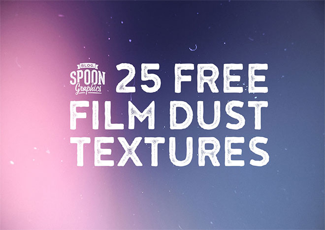 25 Film Dust Textures to use as Backgrounds and Overlays