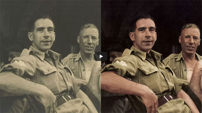 Video Tutorial: How To Colorize a Black and White Photo