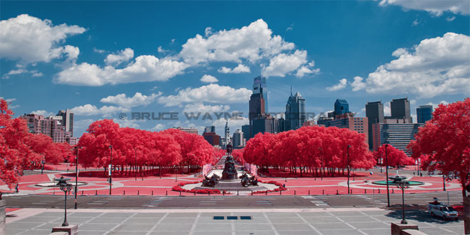 Philadelphia in IR by Bruce Wayne