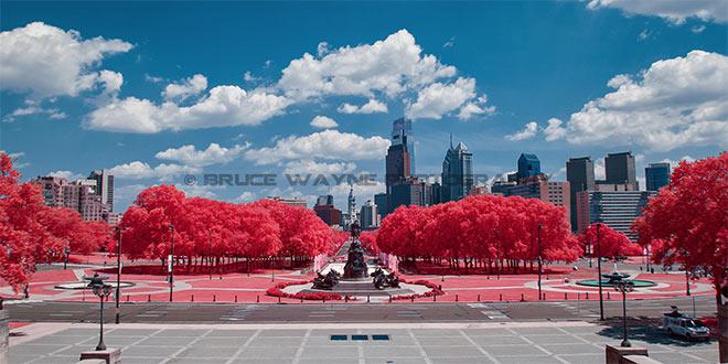 Philadelphia in IR by Bruce Wayne