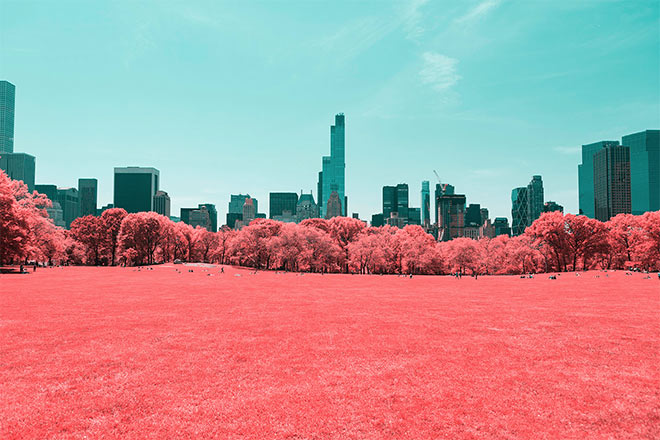 Infrared NYC by Paolo Pettigiani