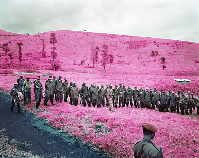 Colonel Soleil's Boys by Richard Mosse
