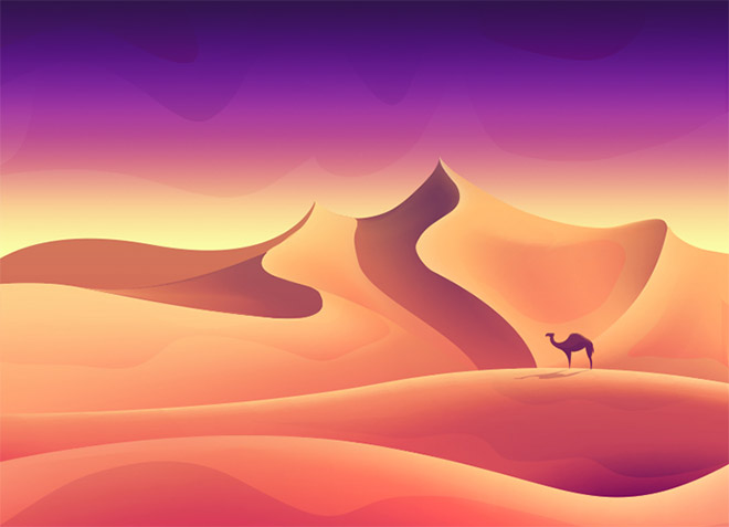 Desert by Jona Dinges