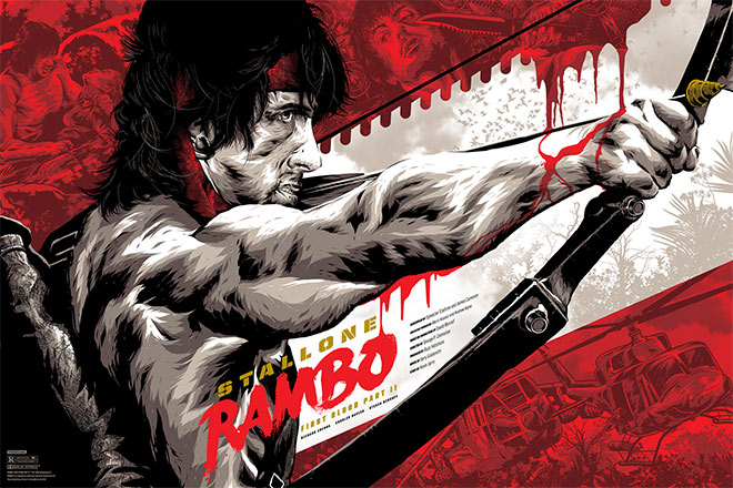 Rambo First Blood Part II by Anthony Petrie