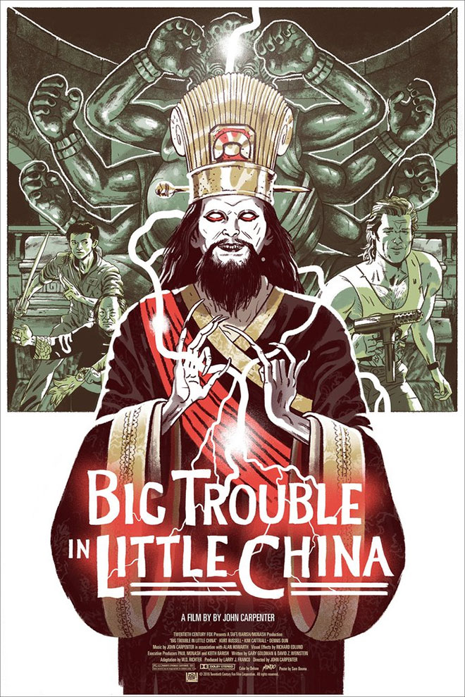 Big Trouble in Little China by Sam Bosma