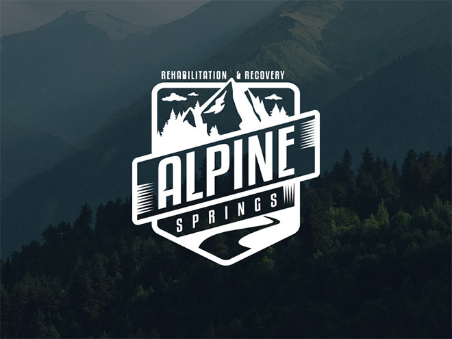 Alpine Logo Mockup by Jason SanMarco