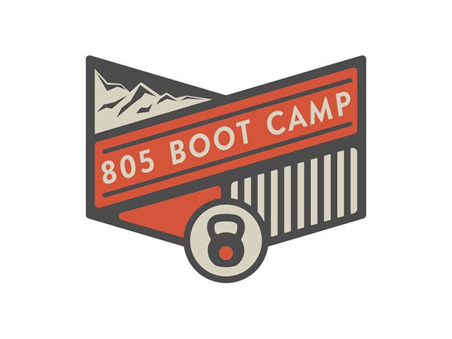 805 Boot Camp Logo by Rob Brink