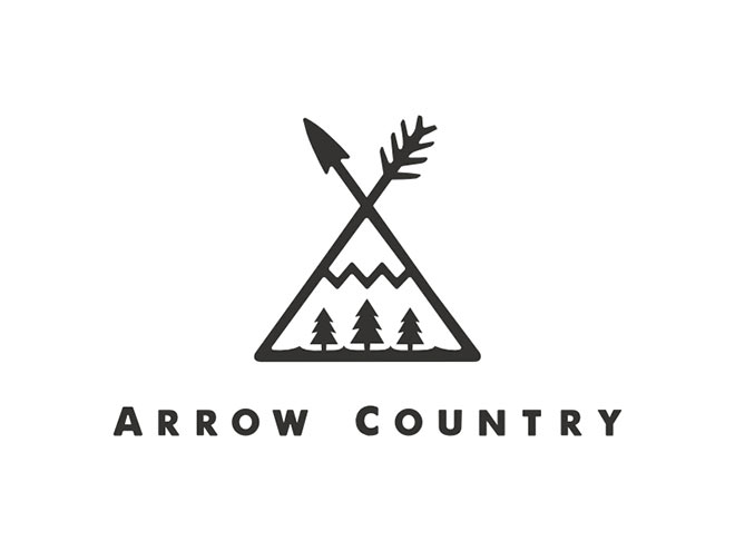 Arrow Country Emblem by Kurt Peters