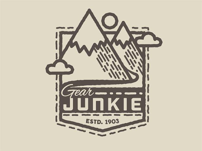 Gear Junkie Patch by David Zimmerman