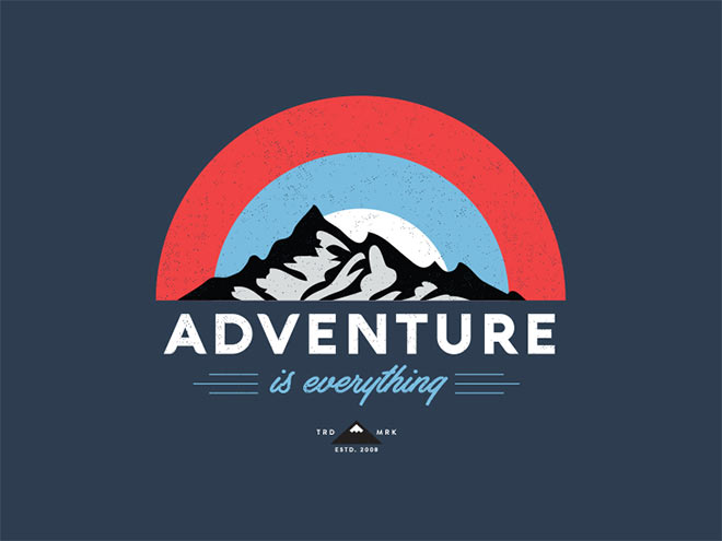 60 creative outdoors adventure themed logo designs