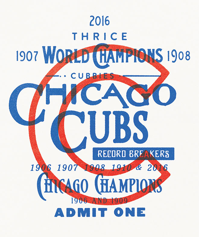 Congrats Cubs! by Forefathers