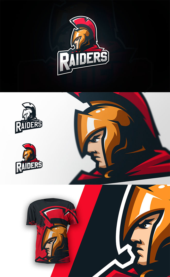 Raiders Team Logo by Denis Davydov