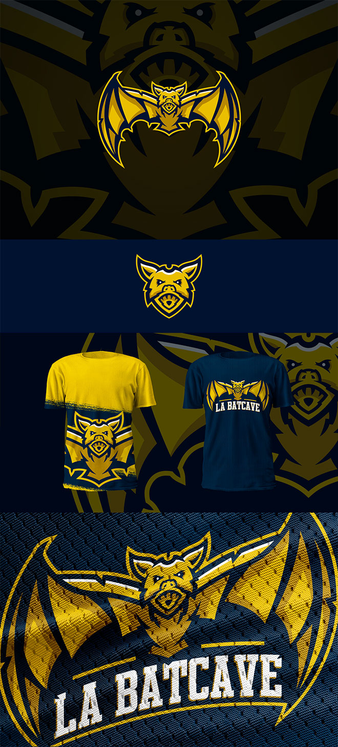 45 Mascot Logo Designs For Sports & ESports Teams