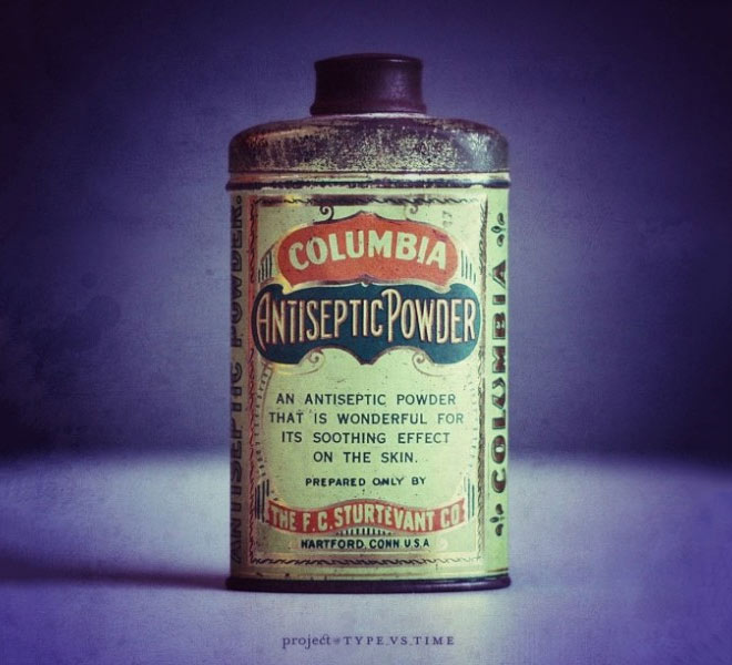 Vintage packaging design