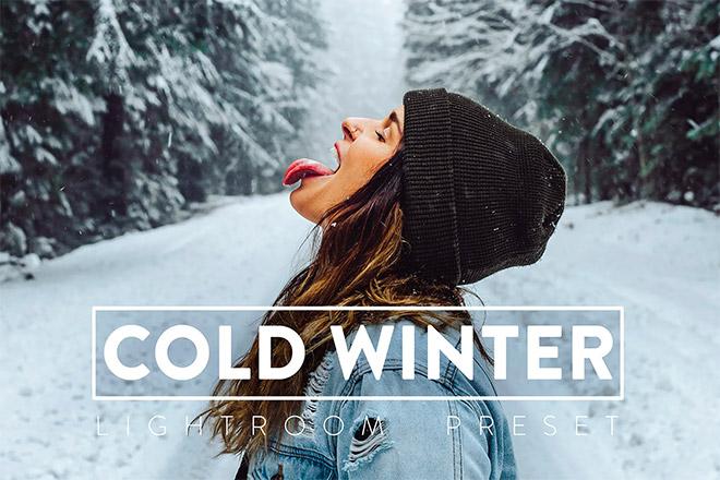 10 Winter Lightroom Presets