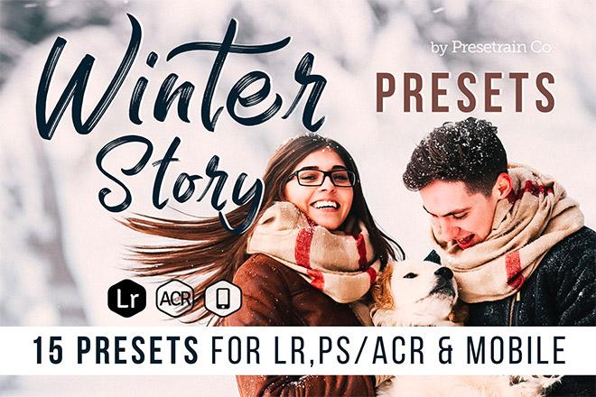 Winter Story Lightroom Presets