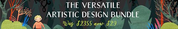 This Versatile Artistic Design Resources Bundle is Just $29