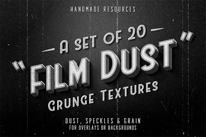Film Dust Textures