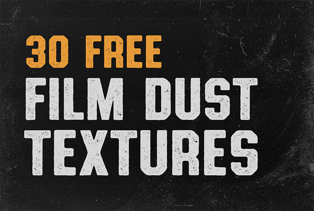 30 Free Film Dust Textures to Add Dirty Effects to Your Work