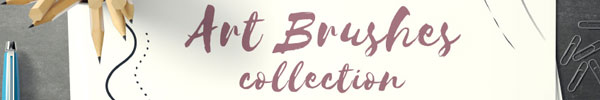 Illustrator Art Brushes Collection for Access All Areas Members