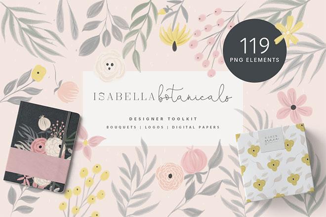 Isabella Botanicals - Floral Pack