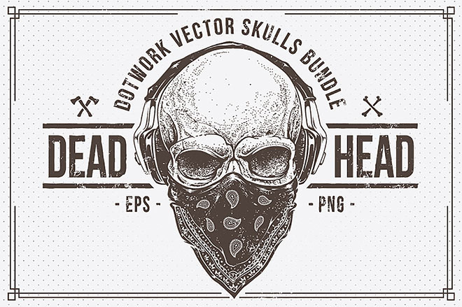 Dead Head Skulls Bundle