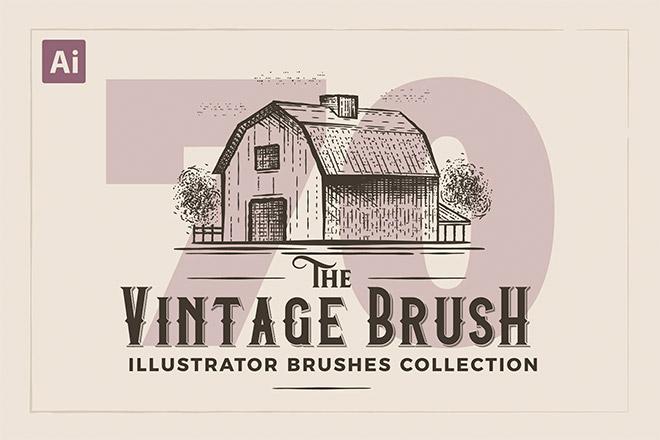 Illustrator Vintage Engraving Brushes