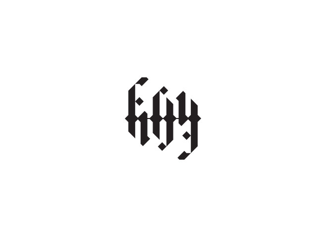 Fifty/Fifty Logo by Jim Tuckwell