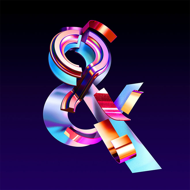 Art of the Ampersand: 35 Creative Examples of The '&' Character