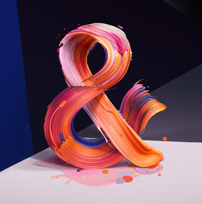 The New Republic Ampersand by Pawel Nolbert