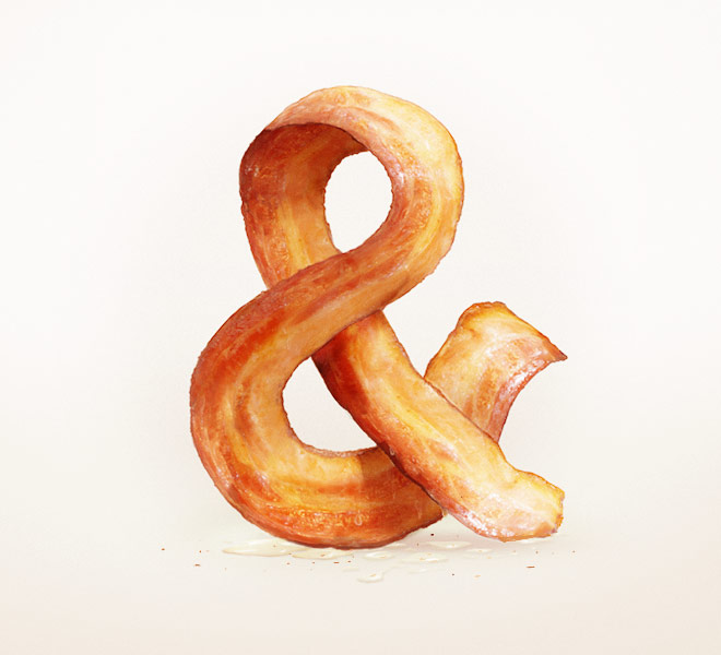 Bacon Ampersand by UI8