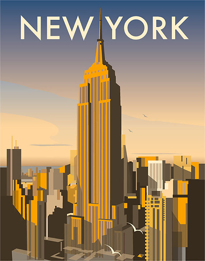 New York by Dave Thompson