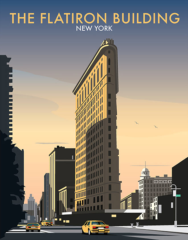 The Flatiron Building by Dave Thompson