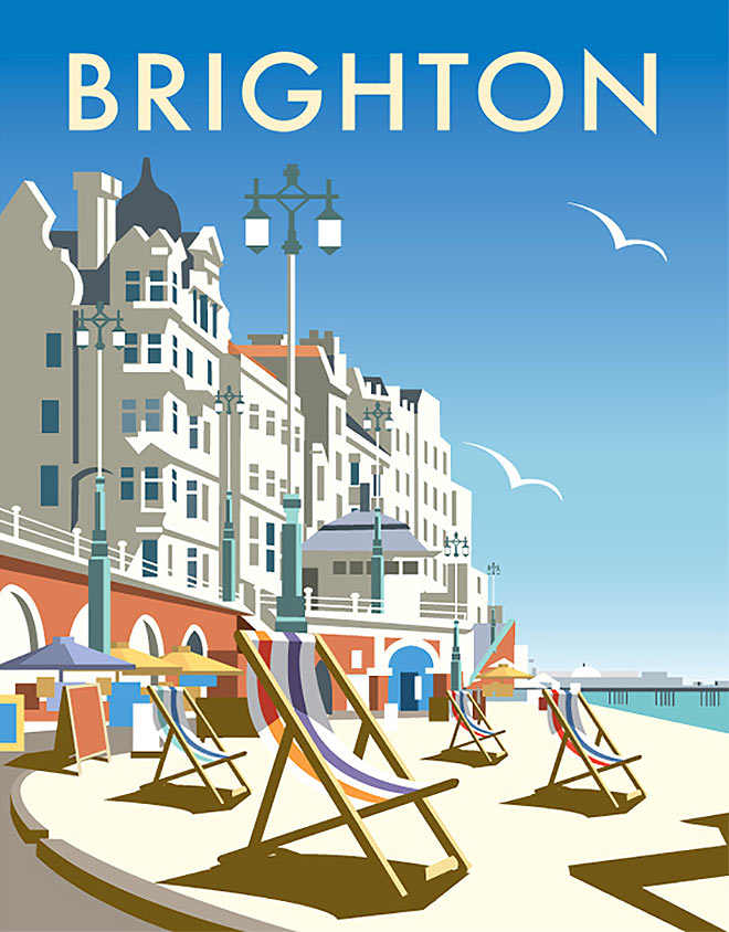 Brighton by Dave Thompson