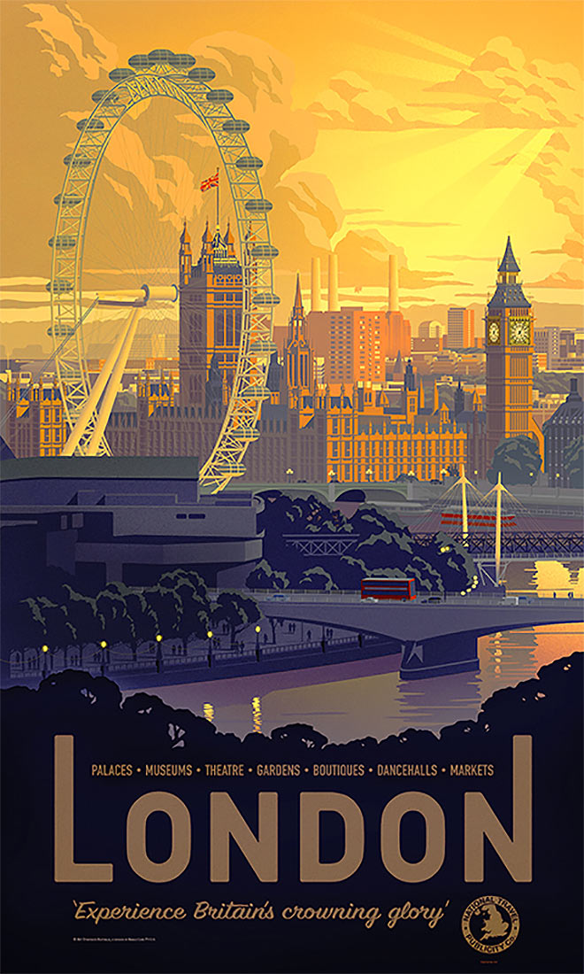 London by Justin Pedler