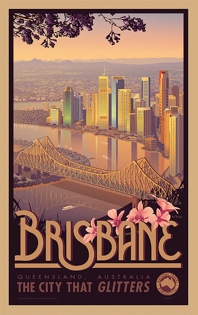 Brisbane by Justin Pedler